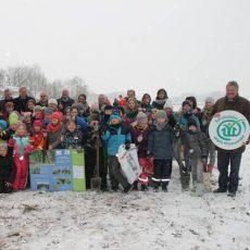 Dritter Schulwald im Emsland entsteht in Langen