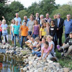 """HOTSPOT-PROJEKT: Eröffnung Umweltbildungsstation """"Weg der Vielfalt"""""""